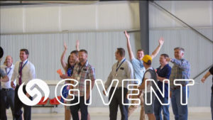 people cheering at Givent events, Small business networking