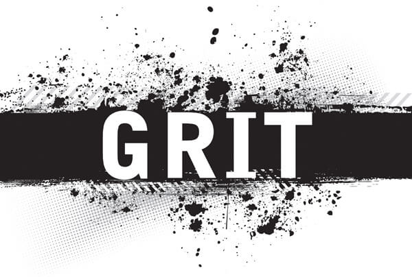 Black banner displaying the word Grit. At Givent, we believe that Grit and passion will help you find success. Learn about Givent, Boise networking event.